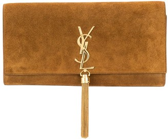 Yves Saint Laurent Pre-Owned Monogram Tassel Clutch