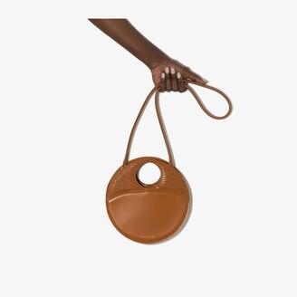 USISI SISTER brown Charlie leather shoulder bag