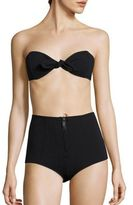 Lisa Marie Fernandez Core Two-Piece Poppy High-Waist Bikini