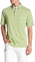 Thomas Dean Short Sleeve Polo