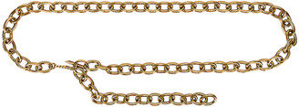 Saint Laurent Chain Belt in Light Bronze | FWRD