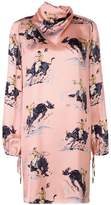 Nina Ricci printed robe dress