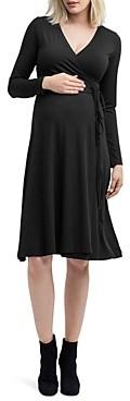Nom Maternity Tessa Nursing Wrap Dress