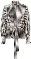 Exclusive for Intermix Nati Gingham Smocked Jacket