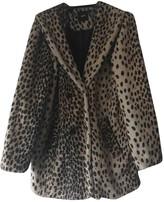Asos Ecru Faux fur Coat for Women