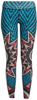 Mara Hoffman Starbasket-print performance leggings