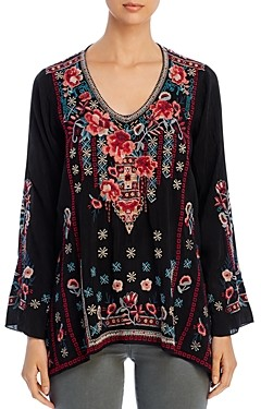 Johnny Was Dulci Embroidered Top