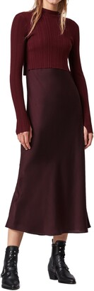 AllSaints Karla Two-Piece Sweater & Slipdress