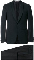 Canali patterned two piece dinner suit