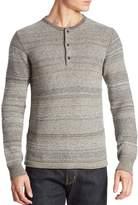 G Star Men's Striped Wool-Blend Henley