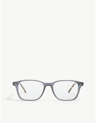 Ray-Ban Havana Rx7119 rectangle-frame optical glasses