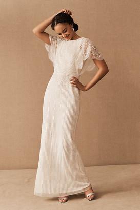 BHLDN Bonheur Dress By in White Size 4