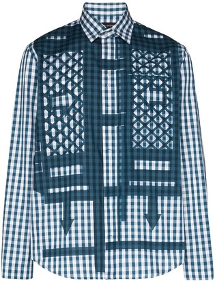 Craig Green Gingham-Print Shirt