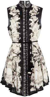 Zimmermann Lulu tie-dye linen minidress