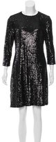Tory Burch Sequined Sheath Dress