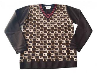 Gucci Brown Wool Knitwear