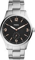 Fossil Men's Vintage 54 Stainless Steel Bracelet Watch 42mm FS5245