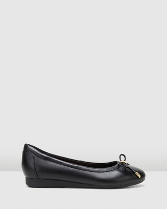 Hush Puppies Women's Black Ballet Flats - The Ballet - Size One Size, 7 at The Iconic