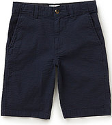 Class Club Big Boys 8-20 Striped Seersucker Shorts