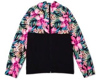 Avia Girls Performance Zip-Up Hooded Jacket, Sizes 4-18