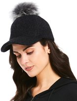 UGG Shearling-Pom Baseball Hat