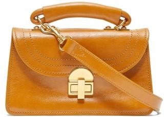 Marni Juliette Top-handle Leather Shoulder Bag - Tan