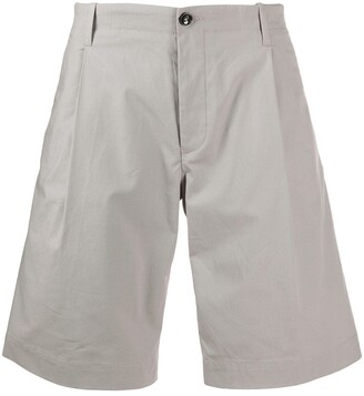 Nine In The Morning Flared Chino Shorts