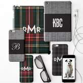 Pattern iPad Case (Mini/Air), Grey and Black Plaid