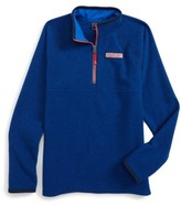 Vineyard Vines Boy's Quarter Zip Sweater