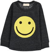 Simple Smiley Flecked T-Shirt
