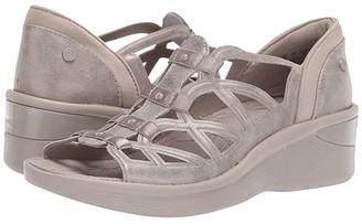 Bzees Sasha (Champagne Metallic) Women's Sandals