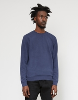 Sunspel Sweat Top Navy