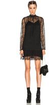 McQ by Alexander McQueen Gather Ruffle Dress