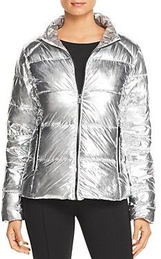 Andrew Marc Metallic Puffer Jacket (63% off) Comparable value $109