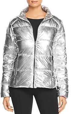 Andrew Marc Metallic Puffer Jacket