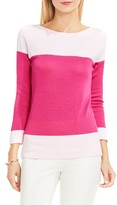 Vince Camuto Women's Colorblock Cotton Pullover
