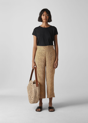 Mini Leopard Print Trouser