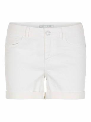 Name It NOISY MAY Women's Nmbe Lucy Nw Den Fold Shorts Gu810 Noos