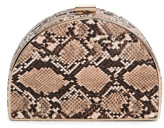 La Regale Snake Moon Minaud Clutch