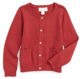 Pumpkin Patch Infant Girl's Carly Rose Cardigan