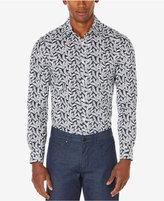 Perry Ellis Men's Big & Tall Leaf Print Shirt, A Macy's Exclusive Style