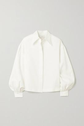 Deveaux Bettina Linen Shirt - Ivory