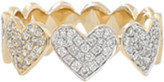 Sydney Evan Diamond Heart Eternity Ring