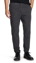 Mossimo Men's Slim Fit Flannel Jogger Pants Charcoal