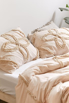 Urban Outfitters Stassia Feathered Trim Sham Set