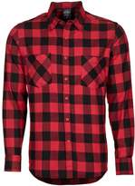 Urban Classics Shirt Black/red