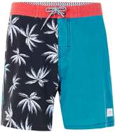 Globe Red, Blue and Black Palms Print Shorts*