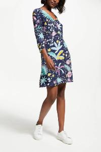 Des Petits Hauts Remiko Print Dress - 8