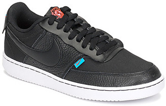 Nike COURT VISION LOW PREM women's Shoes (Trainers) in Black