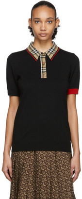 Burberry Black Penk Polo